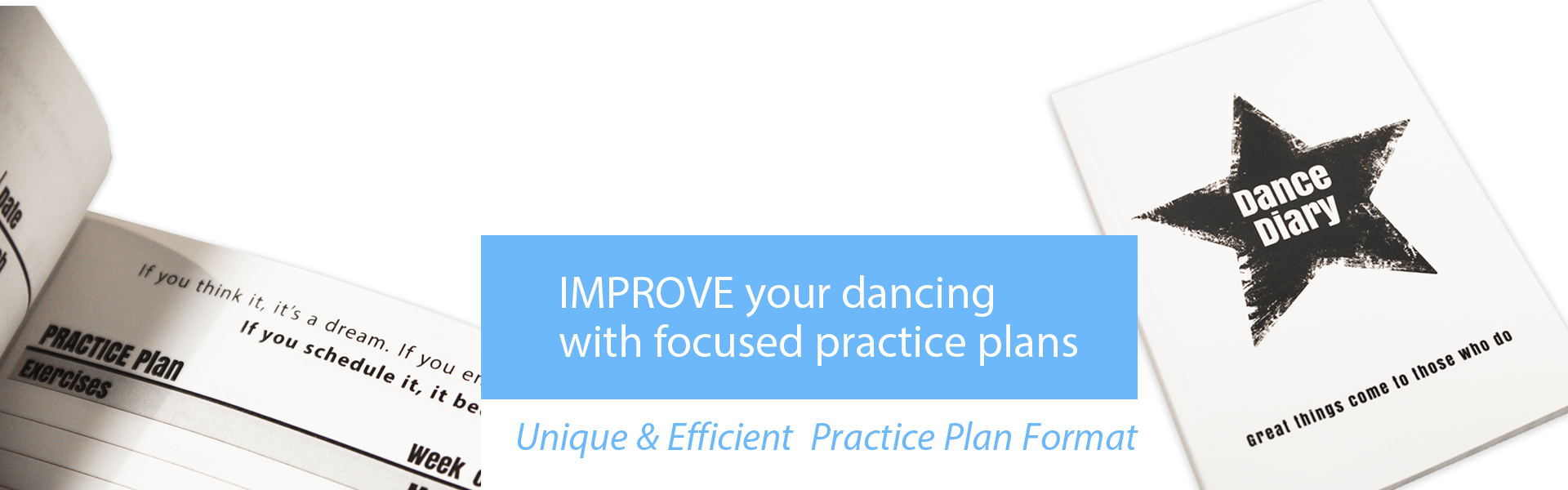 Organize Your Dance Practices with the Dance Diary by Dance Insanity