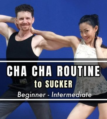 "Learn Cha Cha Routine to ""SUCKER"" by Jonas Brothers"