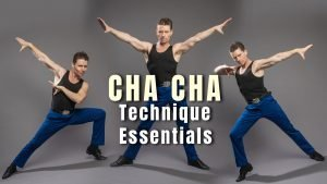 Cha Cha Technique Essentials - learn international cha cha cha technique with Tytus Bergstrom from Dance Insanity