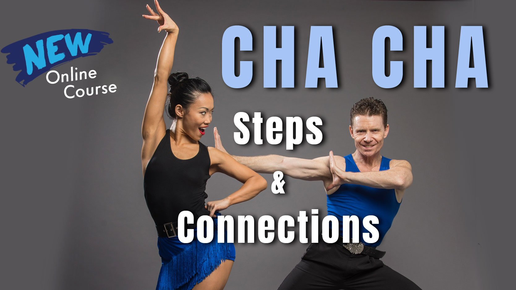 New Cha Cha Online Class _ Dance Steps & Connections