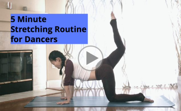 5 Minute Back and Core Stretching Routine for Dancers