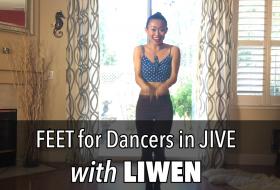 Jive Kick Exercises for Dancers