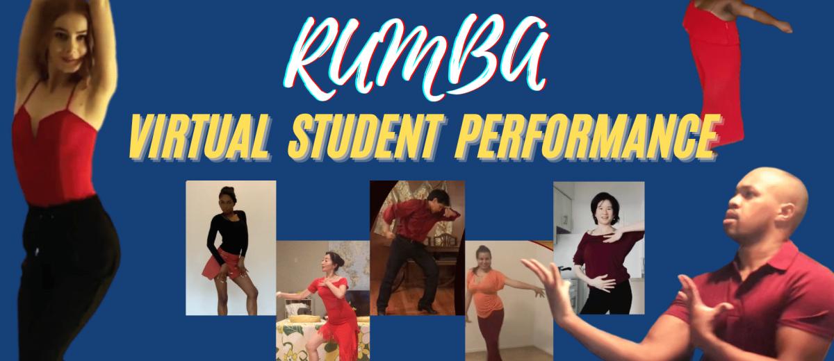 Rumba Sunday Series – Student Online Performance Video