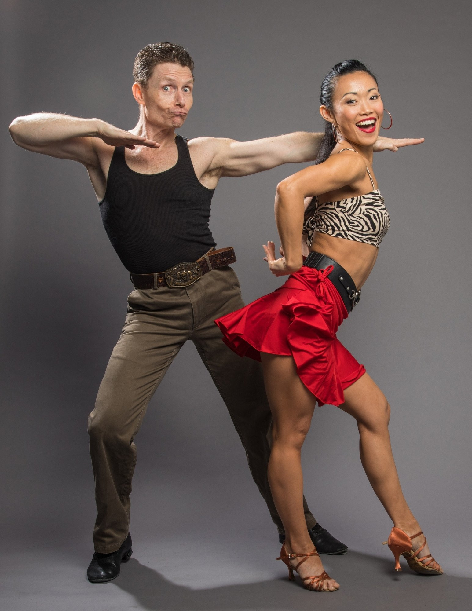 Tytus & LiWen - dance Insanity - online private dance lessons - cha cha cha