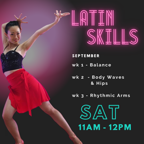 Best Latin Technique Online Class with LiWen - Dance Insanity